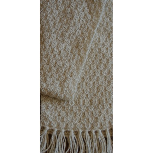 Moss Stitch Scarf Knitting Pattern : Kit for Moss Stitch Scarf