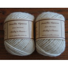 Alpaca Yarn 5-8 ply Light Fawn (Holly)